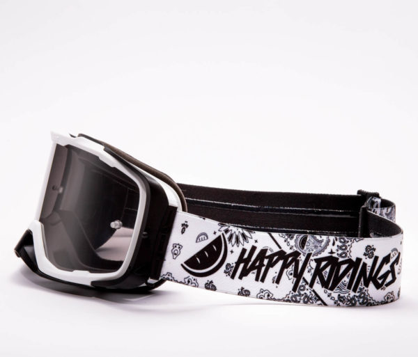 Black and White MTB Goggle