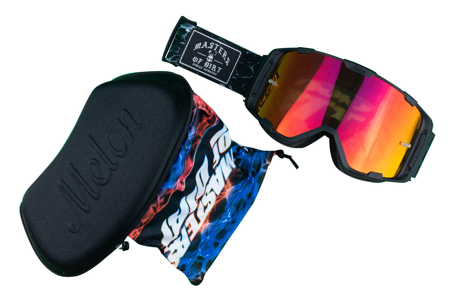MOD MTB/MX Goggles, Pouch and Hard Case